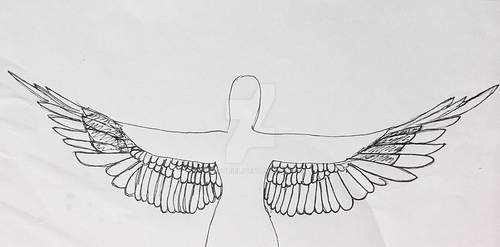 Mockingjay wings project