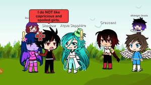 Twilight Sparkle vs Aqua Sapphire