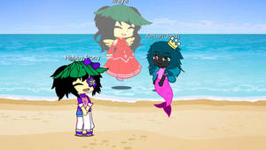 The girls meet Maya, the legendary ghost filly