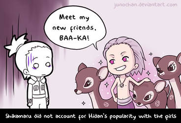 Hidan's new friends by junochan