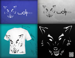 WOLFtech logo design by Oliver240693
