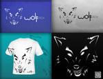 WOLFtech logo design