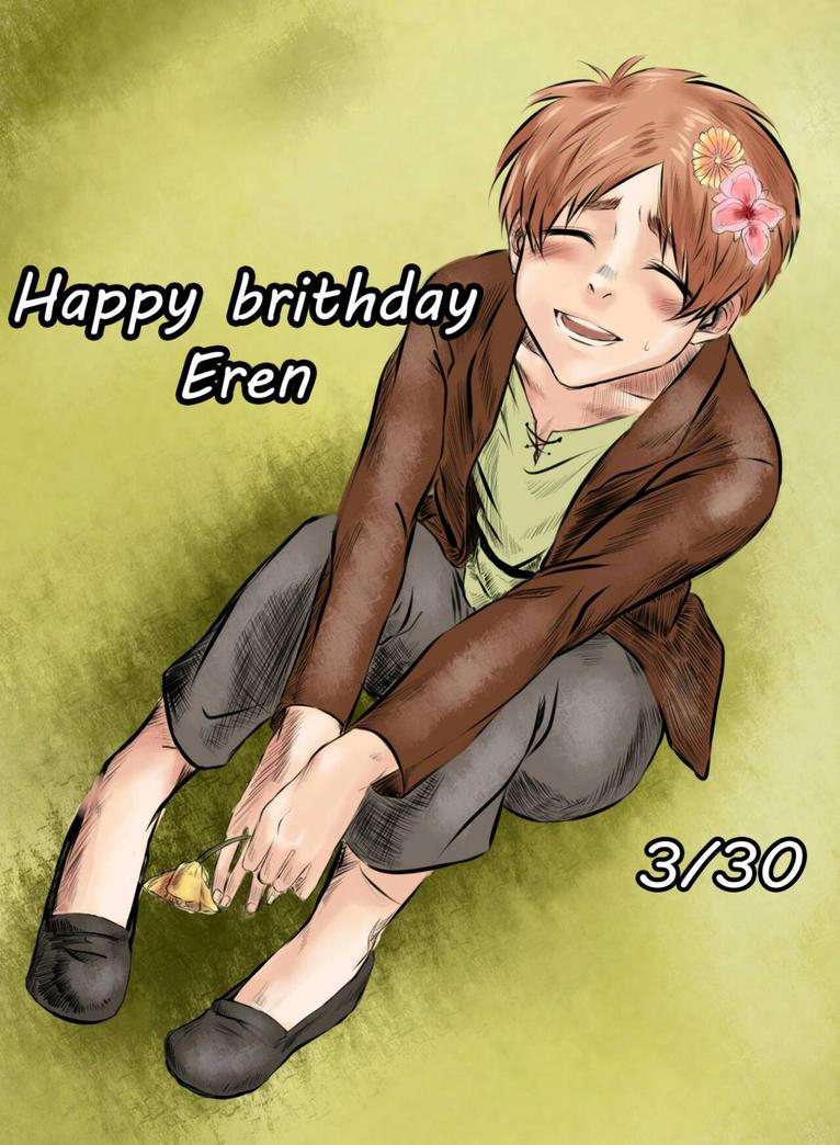 hbd Eren! by maboku
