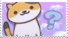 Neko Atsume Stamp [#4] by I-Stamps