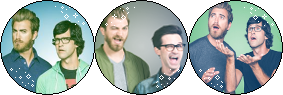 Rhett and Link [Divider] (Request) by I-Stamps