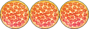Pizza Circles [Divider] (Request) by I-Stamps