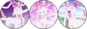 Sylveon [Divider] (Request) by I-Stamps