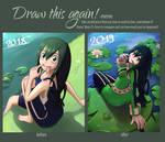 Draw this again - Tsuyu