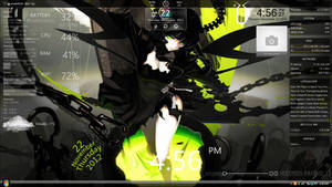 Lime Green Shooter Rainmeter Theme
