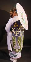 Geisha Zelda: Obi Drape by Elrowiel