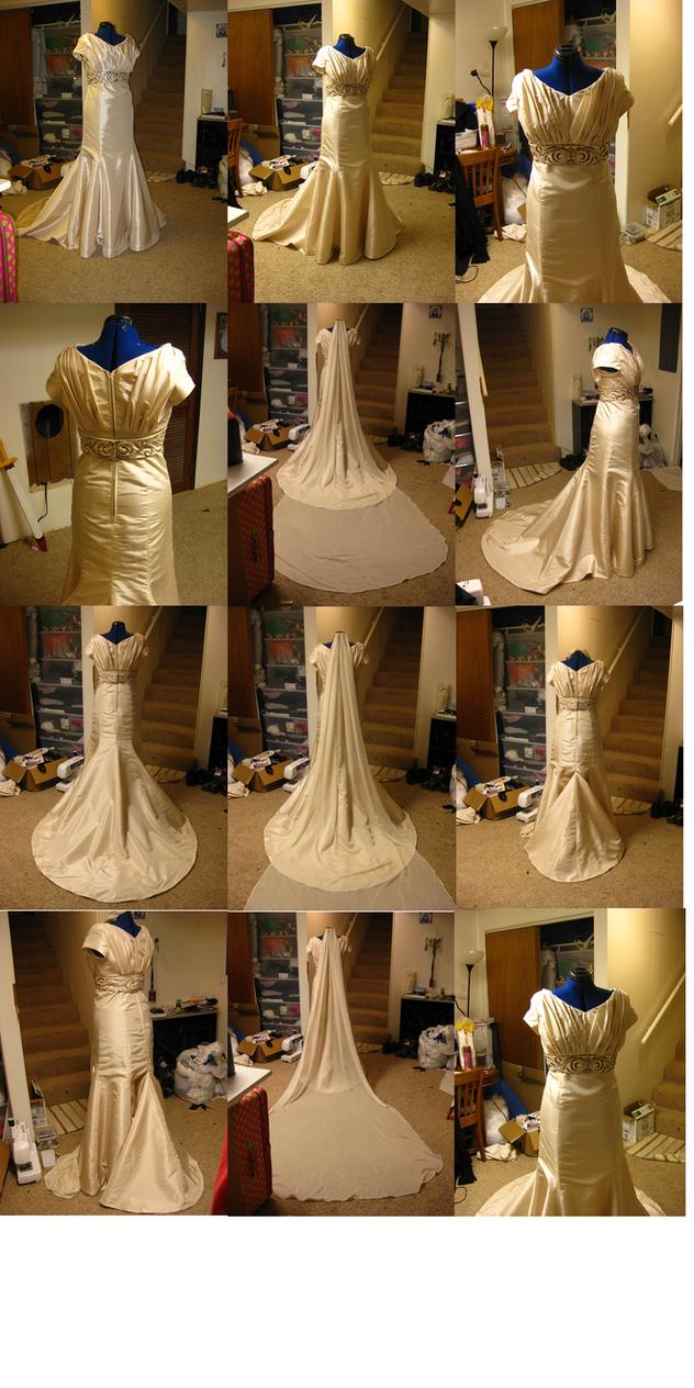 Molly Wedding Dress by Elrowiel