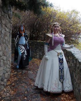 Midna And Zelda