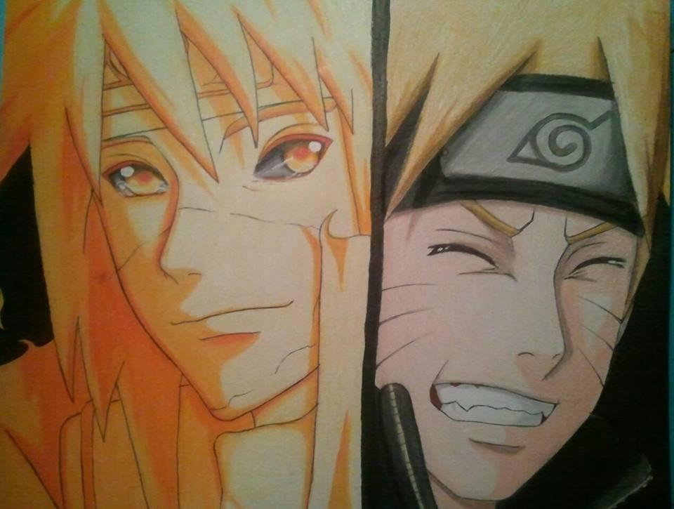 Minato and Naruto by Liyahhh2014