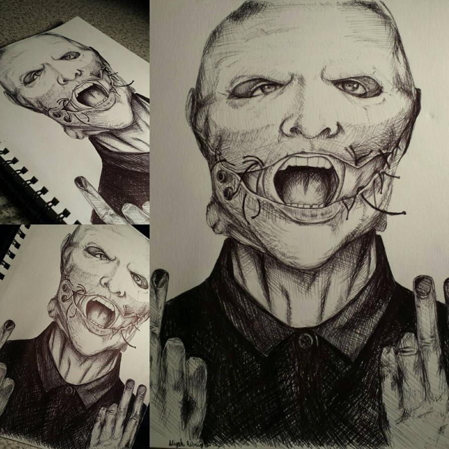 Corey Taylor 2015 Mask by Liyahhh2014