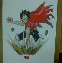 Luffy by saeg35