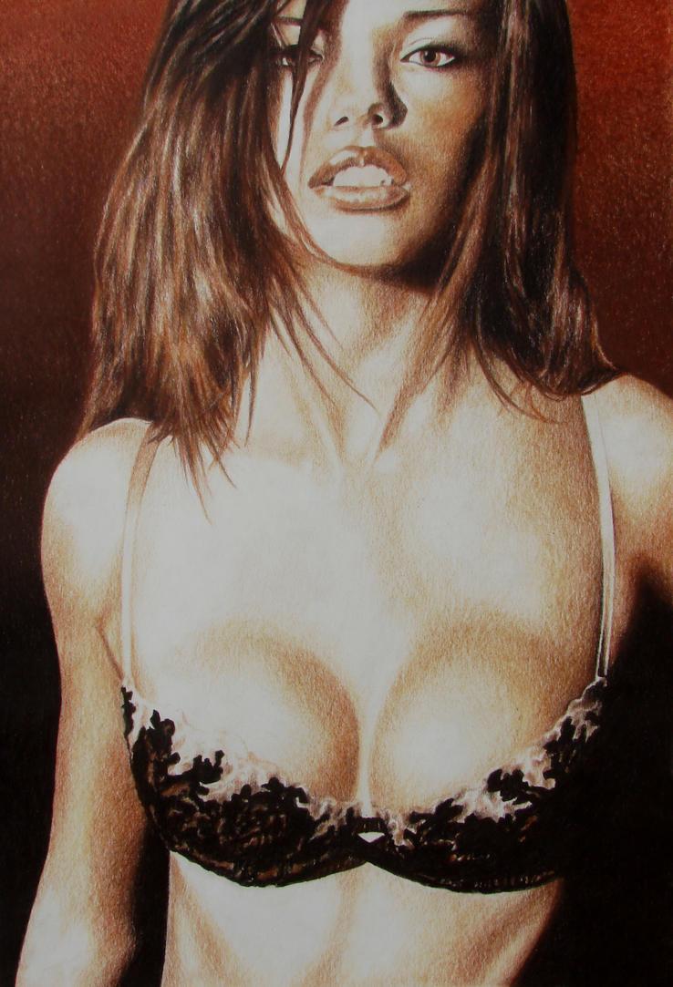 Adriana Lima by johnlanthier