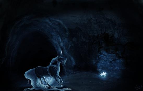 hidden in the dark of the caverns