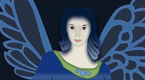 Blue Fairy by Chicoria