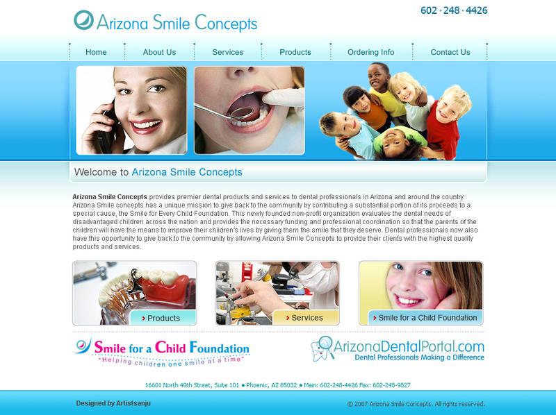 Web-Interfaces-for-dental by artistsanju