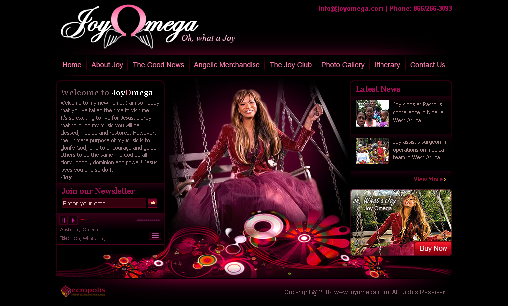 JoyOmega1-Singer by artistsanju