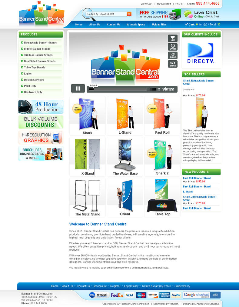 Web interface showcase of inspiration design juices for Volusion templates for sale