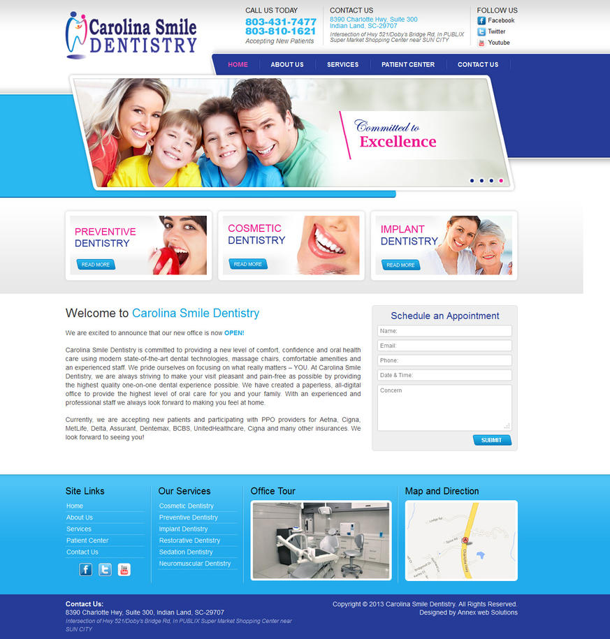 Wordpress theme design for Dentist by artistsanju