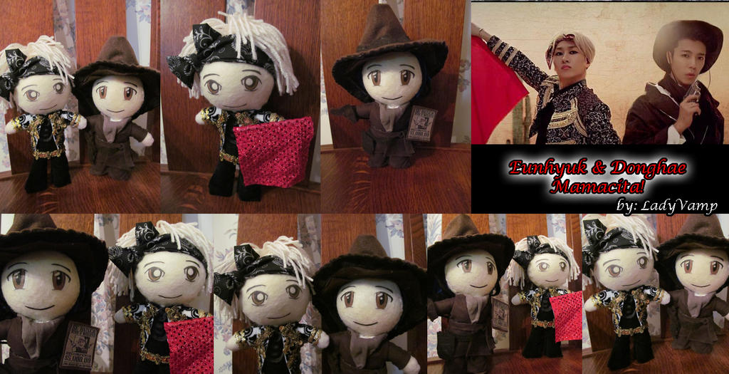 EunHae Mamacita Dolls by VilleVamp