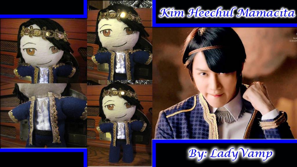 Kim Heechul Mamacita Plushie Blue by VilleVamp