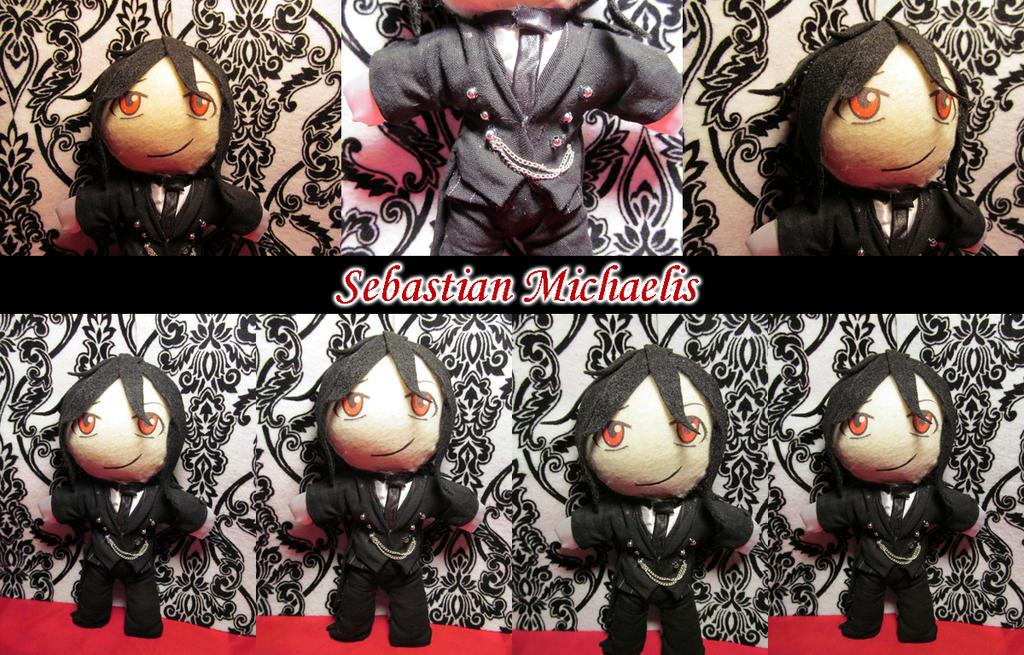 Sebastian Black Butler Doll by VilleVamp