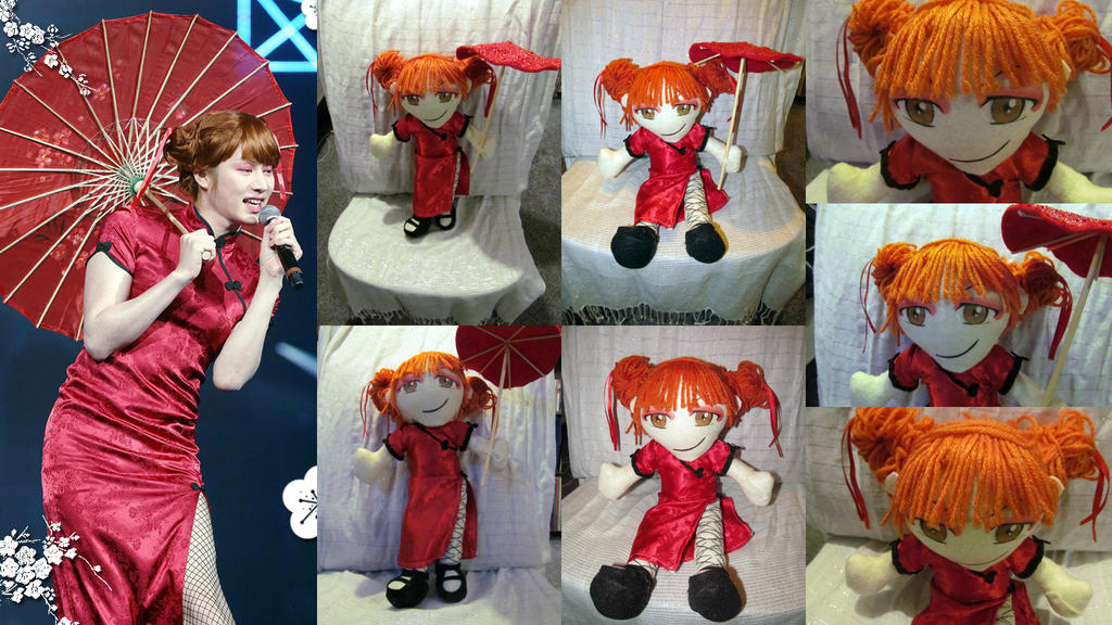 Heechul SS6 Crossdress Doll 3 by VilleVamp
