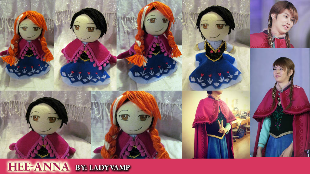 Heechul Anna Crossdress Doll by VilleVamp