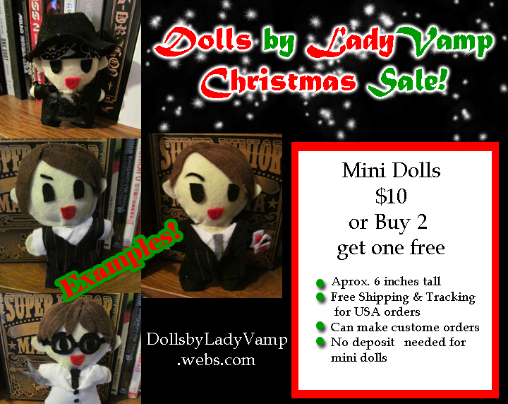 Mini Doll Sale! by VilleVamp