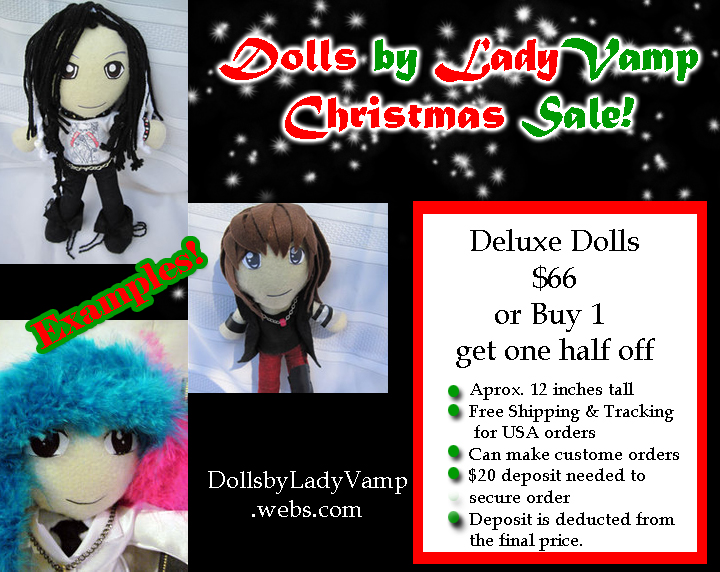 Deluxe Doll Sale by VilleVamp