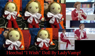 Heechul MD I wish doll by VilleVamp
