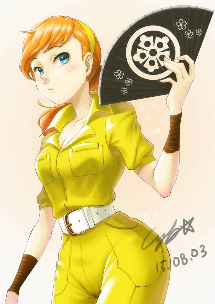 Anime Characters Jumpsuit : April o`neil by oil on deviantart
