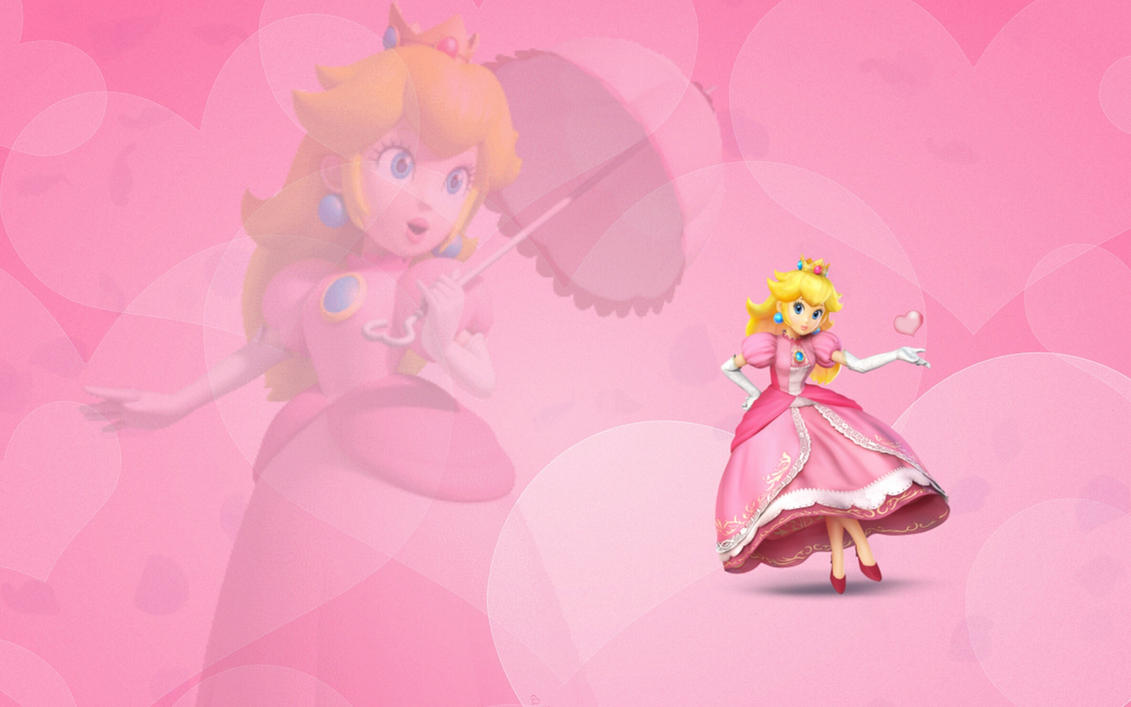 Princess Peach wallpaper by Queen--Zelda
