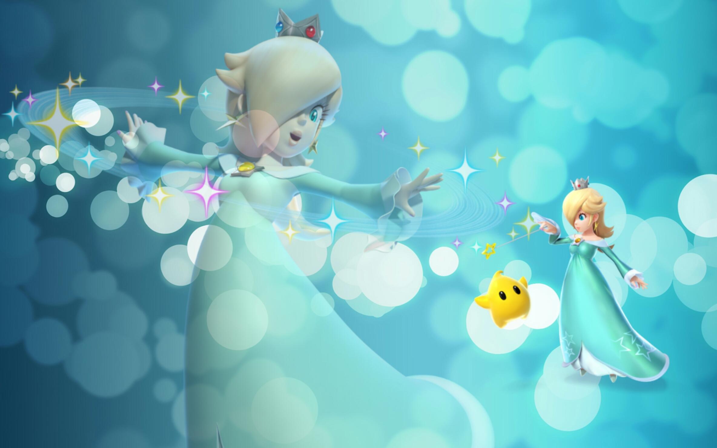 Princess Rosalina Wallpaper By Queen Zelda On Deviantart