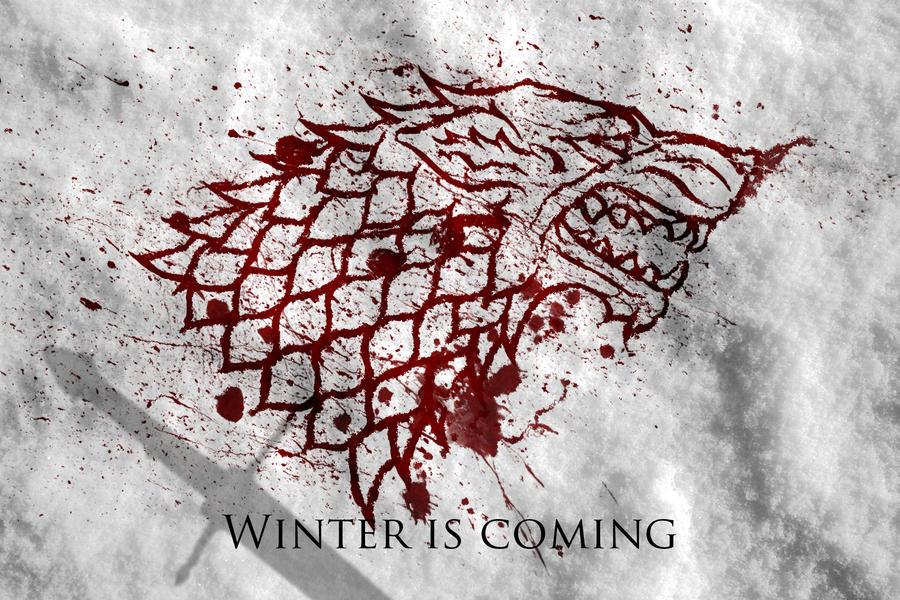 Winter Is Coming Stark Wallpaper