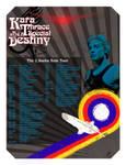 Kara Thrace Tour Poster by WeaponXIX