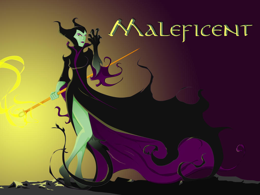 Maleficent Dragon Wallpaper