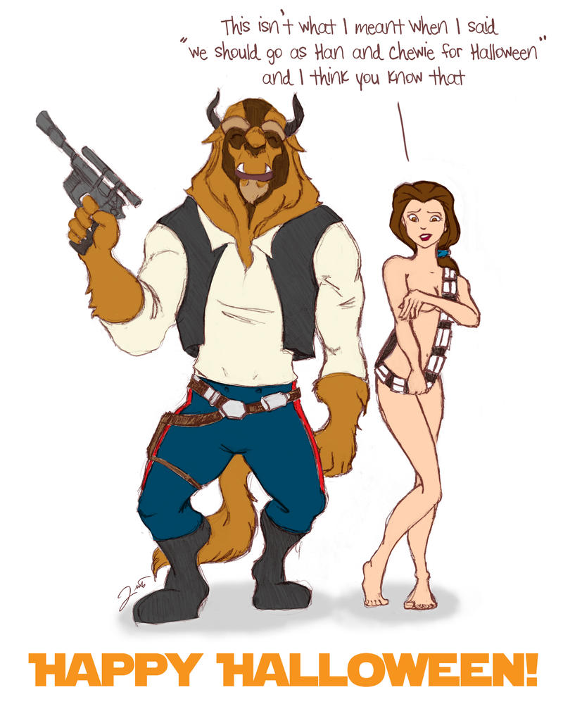 Han and Chewie by WeaponXIX
