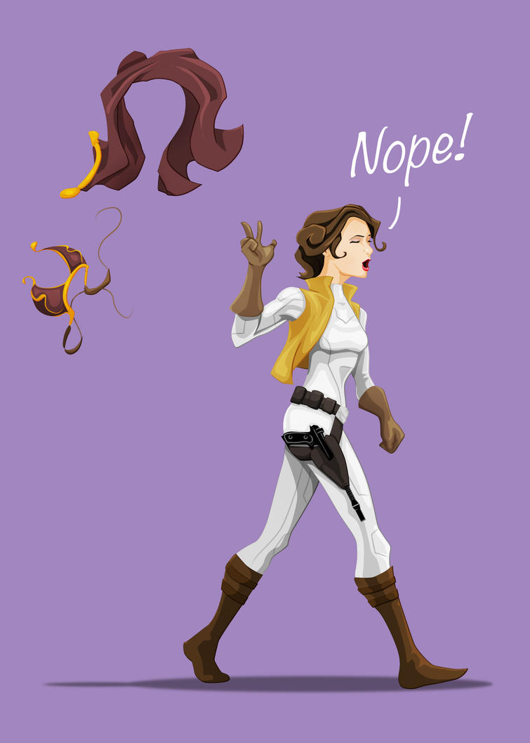 Slave Leia No More by WeaponXIX