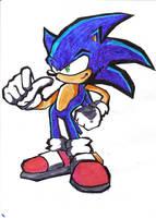 Sonic The Hedgehog by ScotishShadowAngel