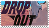 drop-out stamp by afterwit