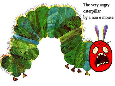 The Very Angry Caterpillar