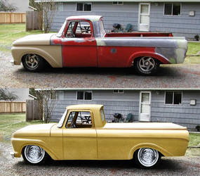 Paint over truck