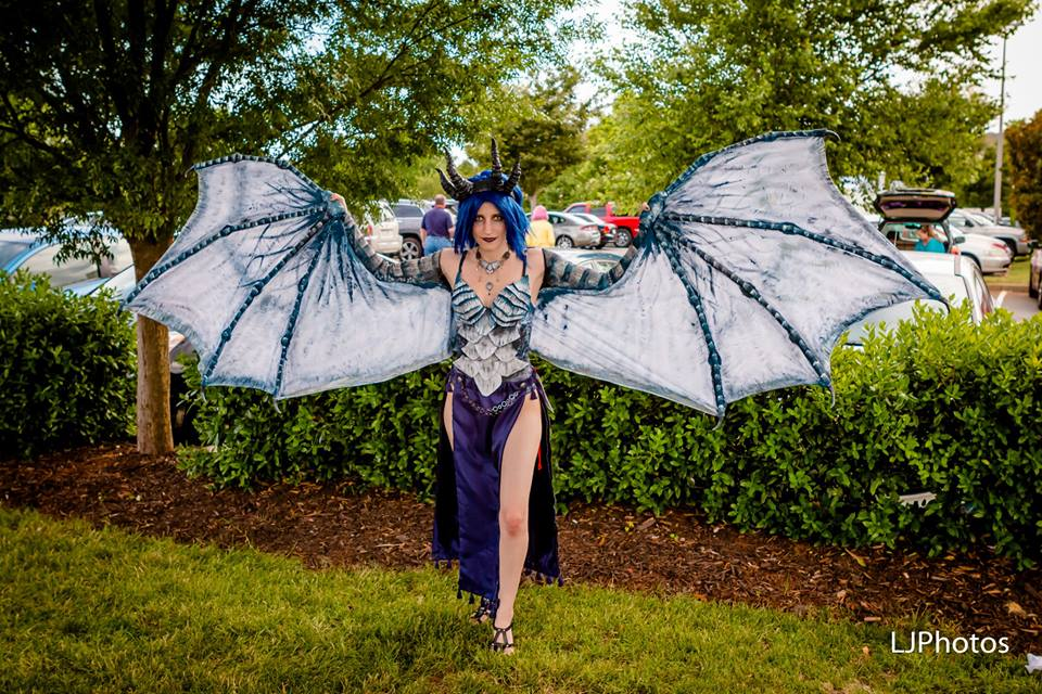 Frost Dragon Cosplay (Skyrim) by TalonArt on DeviantArt