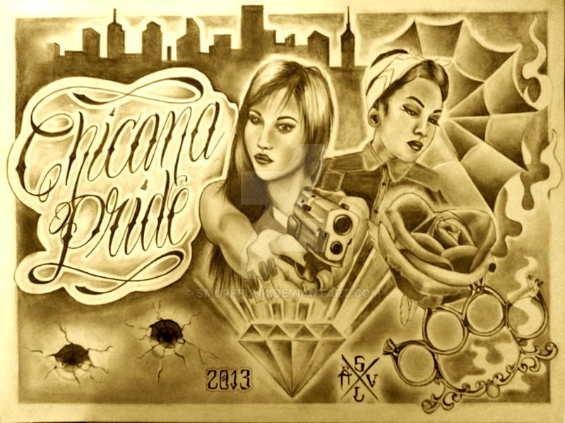 Chicana pride by smurfpunk on deviantart - Chicano pride images ...