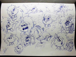HTF-Kao sketch dump by MURAIKAO