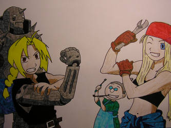 .:Full Metal Alchemist:. by NuclearGirl